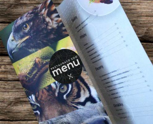 Jídelní lístek - Restaurace Zoo