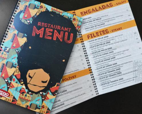 Jídelní lístek - Restaurace Amigo